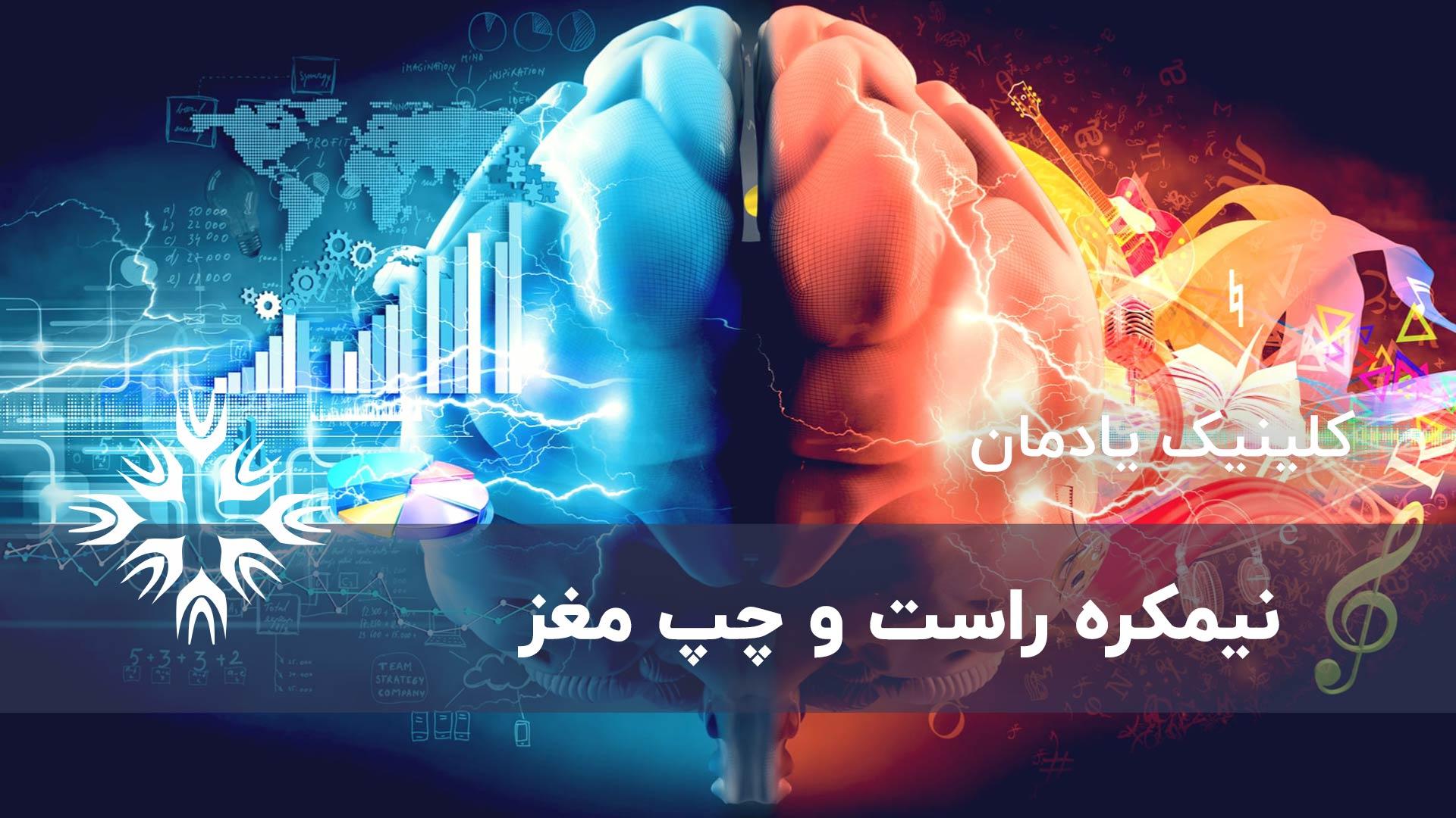 نیمکره چپ و نیمکره راست مغز